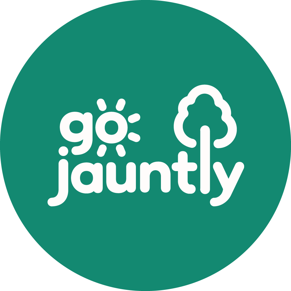 Go Jauntly Logo | The Urban Wanderer